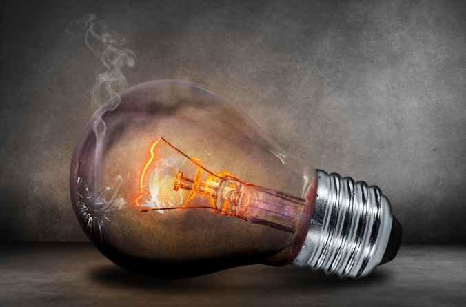 light light bulb bulb heat